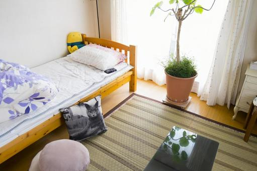 A room for single living alone