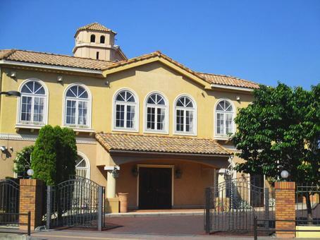 A mansion