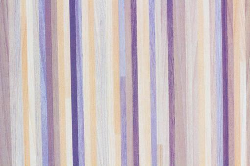 Fashionable wood grain background material with mixed color stripe pattern