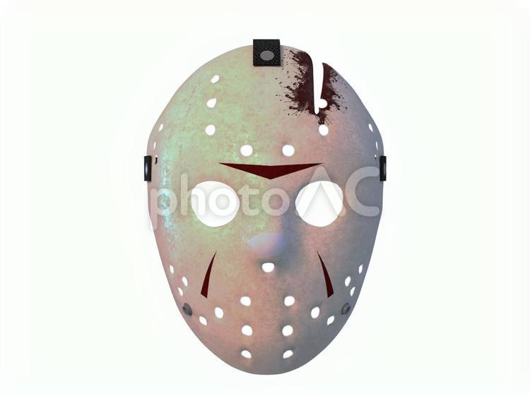 ホッケーマスクjの写真