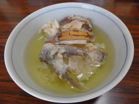 붕어 초밥 차 즈케