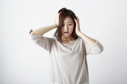 Worried lady 4