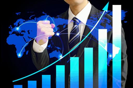 Businessman Performance Up