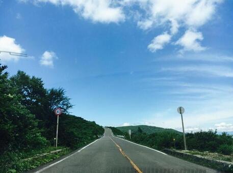 Drive scenery