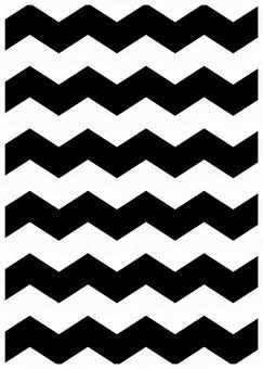 Scandinavia design zigzag black