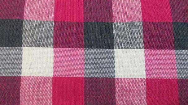 Fabric (red plaid)