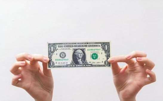 1一美元的钞票