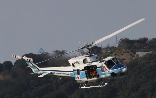 해상 보안청의 벨 212 헬기