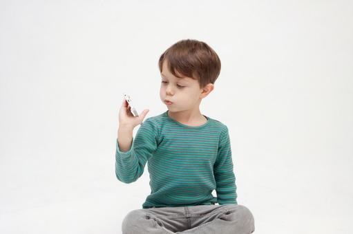 智能手机和男孩3