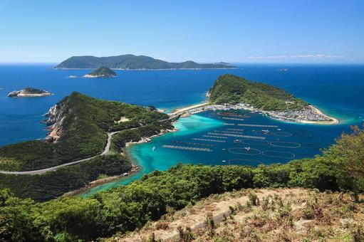 Superb view of Kashiwajima