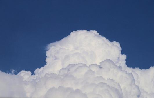 Cumulonimbus and blue sky