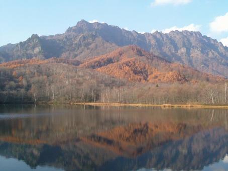 Lake and mountain 3