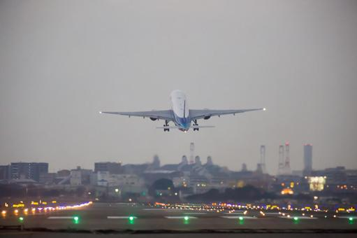 Airplane to take off