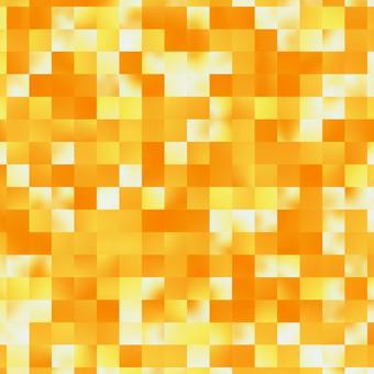 Orange and yellow mosaic pattern
