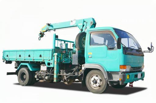 Truck with PSD / crane