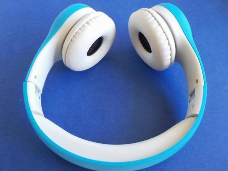블루 헤드폰