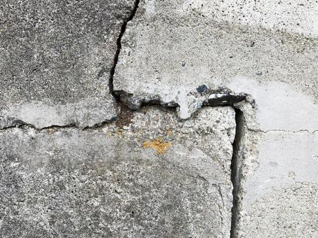 Cracked old concrete texture material _b_26