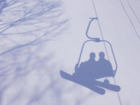 雪景 - 情侶