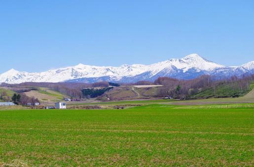 Tokachi dake mountains