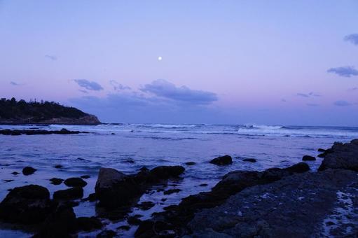 새벽 해변