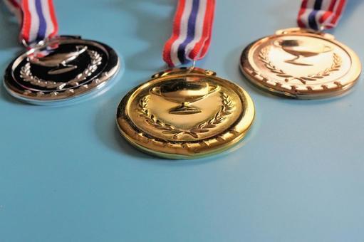 Medal gold / silver / bronze e