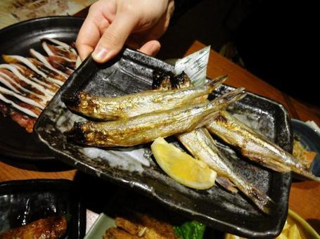 Izakayaki fish
