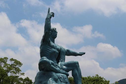 長崎縣長崎市和平紀念雕像001