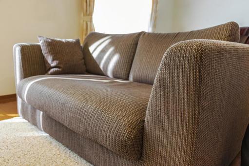 Sofa in a bright room