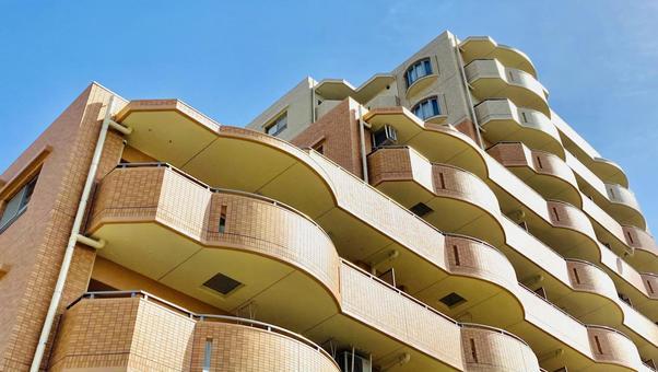 따뜻한 아파트 부동산 이미지