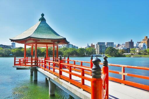Ohori Park (Fukuoka City) for citizens to relax