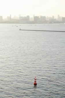 바다에 떠있는 부표 2