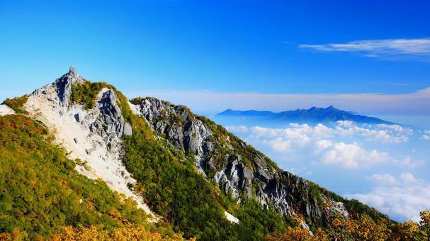 地蔵岳 그 뒤에 펼쳐지 타케 전망