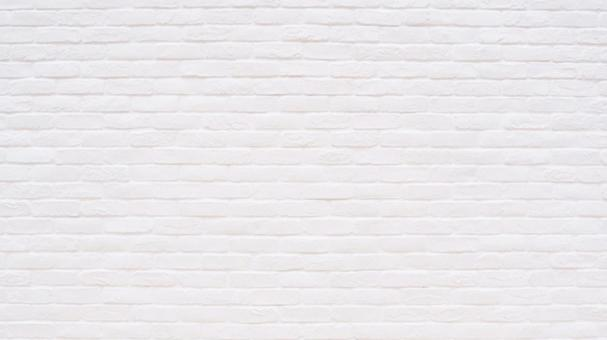 Fashionable white brick wall background material wallpaper 16: 9