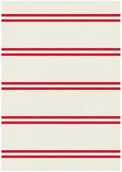Background Material · Design · Double Line x Red White