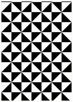 Geometric texture windmill