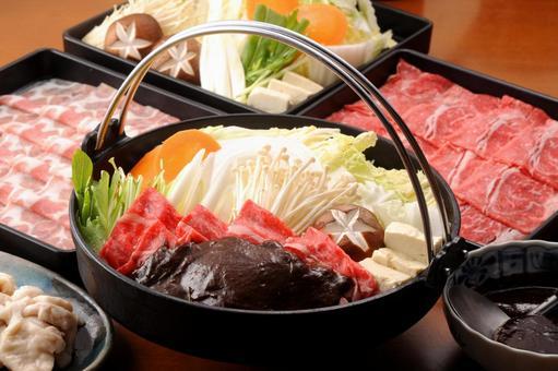 Miso sukiyaki image (high image quality)