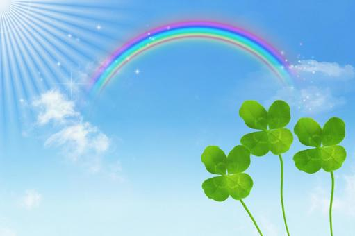 Four leaf clover and Hong