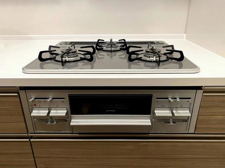 Gas stove (system kitchen)