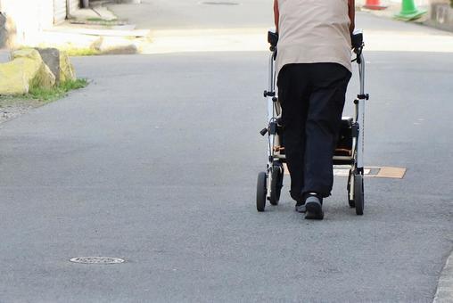 Elderly person image
