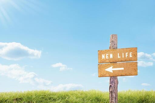 Proceed to a new life