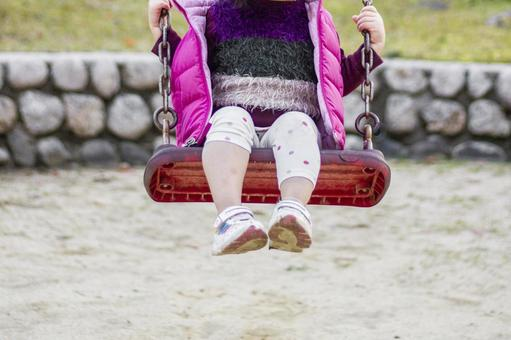 Girl on a swing 1