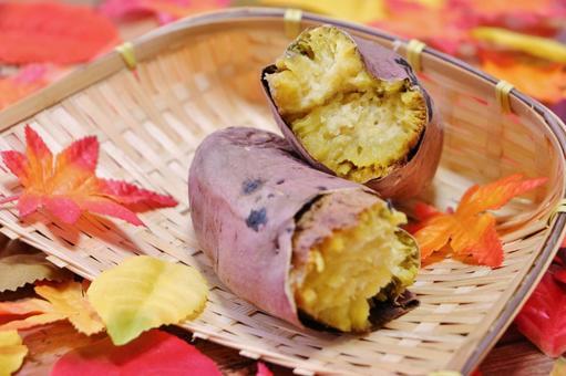 Hokuhoku roasted sweet potato