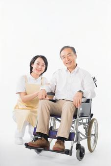 Men and nurses on a wheelchair 9