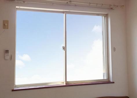 Simple sliding waist window