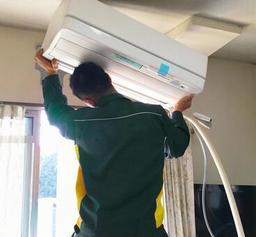 Air conditioner installation 2