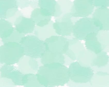 Watercolor paint emerald green