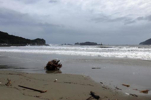 태풍의 풍경 니치 난 해안 4