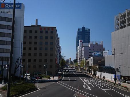 Niigata City Office District