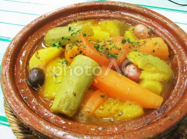 モロッコ料理タジンの写真