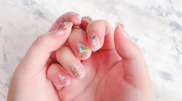 Yumekawa Pink Nail